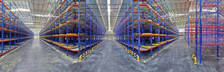 Red Bull warehouse In Thailand - 360° Panorama